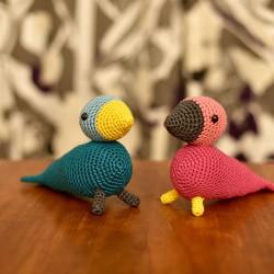 Hæklede sangfugle