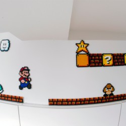 Mariobane af hamaperler